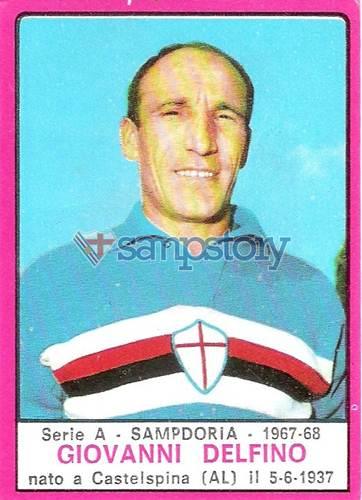 Calciatori – Edizioni Panini – 1967-68