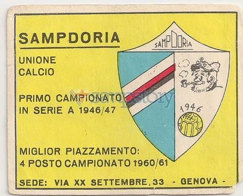 MV/240 – Calciatori – Edizioni Panini – 1961-62