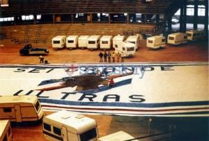 1983-84 Bandierone nel Palasport