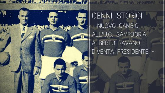 Nuovo cambio all'U.C. Sampdoria: Alberto Ravano diventa presidente